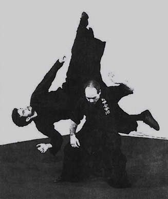 Behrens Shihan performing throw circa 1990's