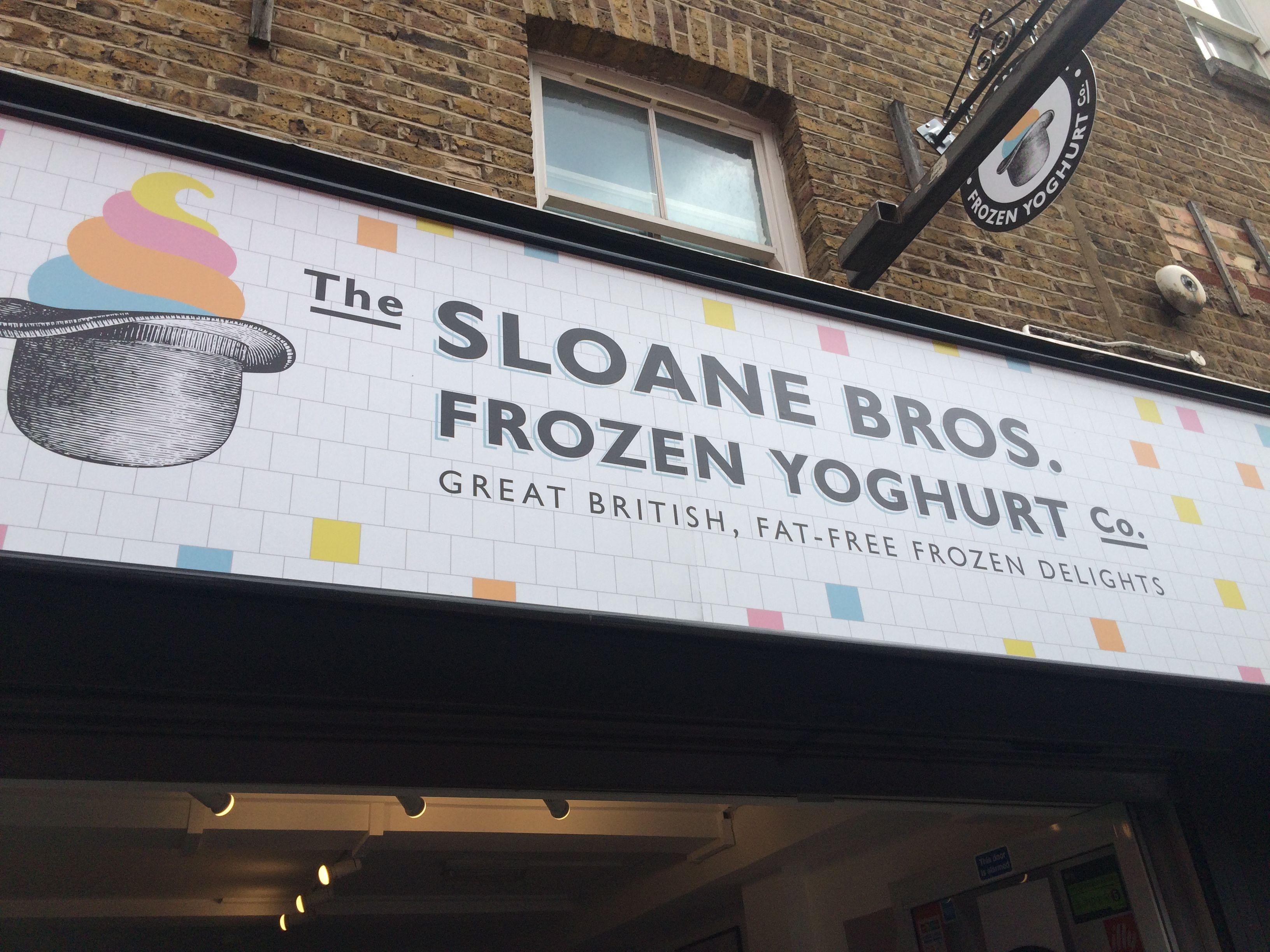 Sloane Bros Frozen Yoghurt