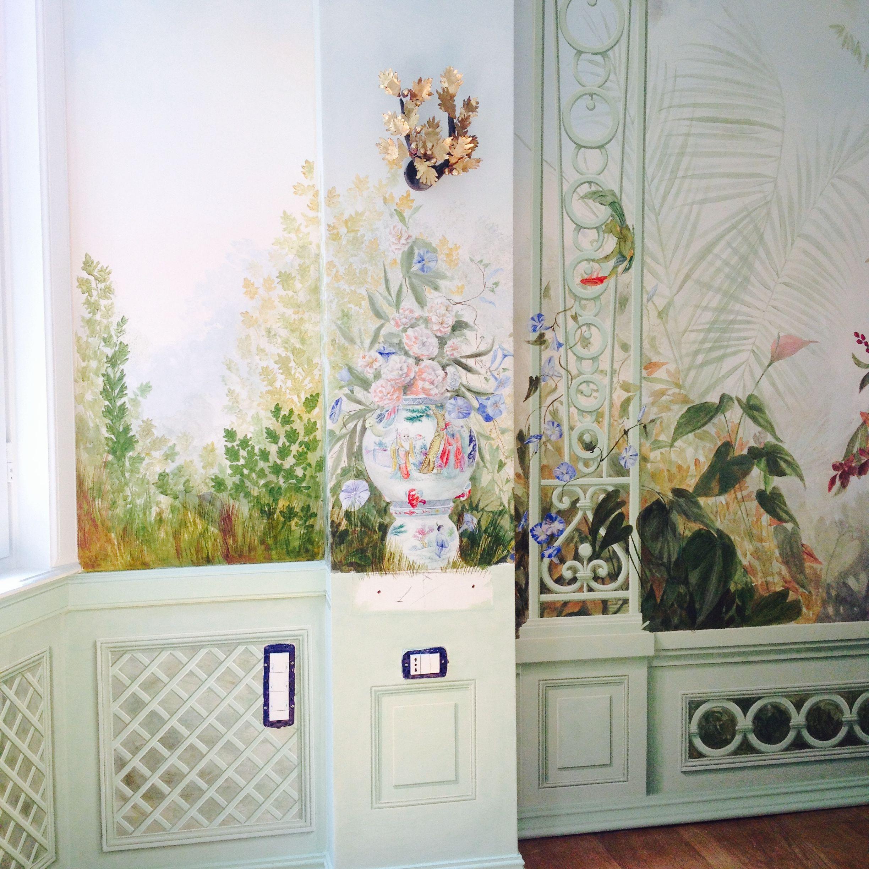 Roberta Dori Puddu   Trompe l'oeil -Giardino Incanto- rdpstudio@gmail.com