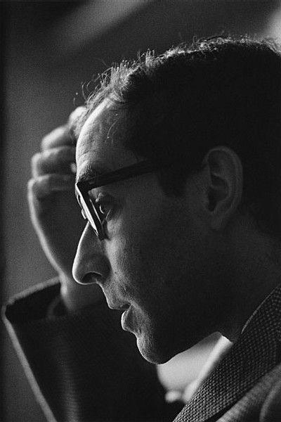 Jeanloup Sieff, Jean-Luc Godard, 1965