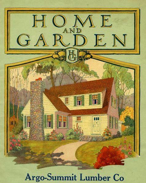 Vintage Home And Garden Undated Nostalgic Art Vintage