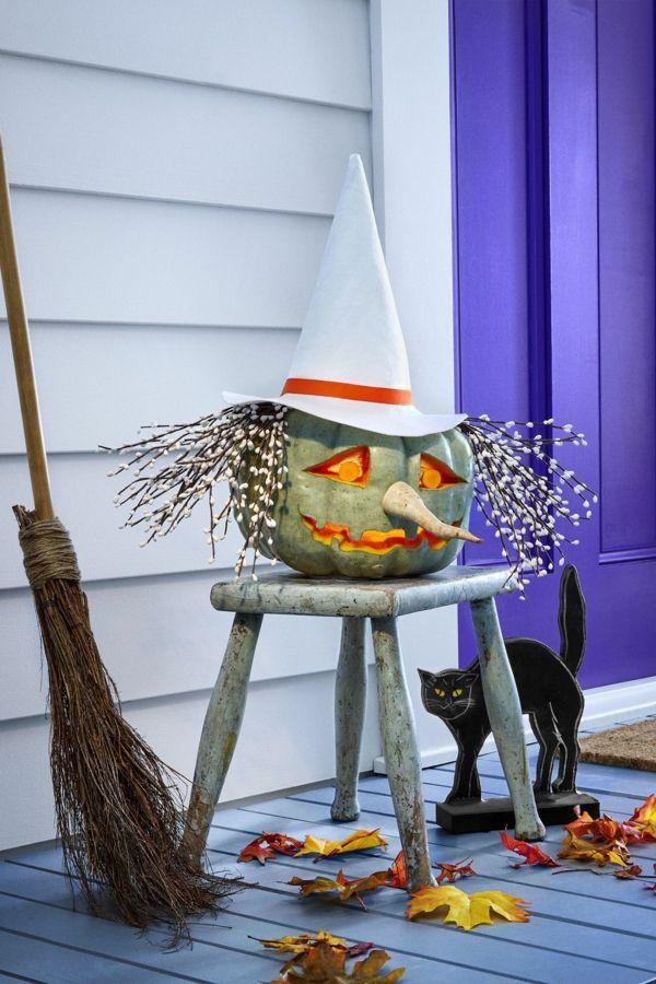 comment creuser une citrouille pour halloween id es et. Black Bedroom Furniture Sets. Home Design Ideas