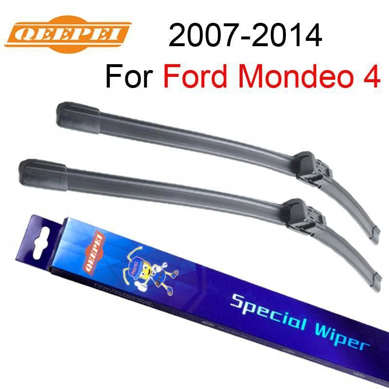 Qeepei Windshield Wipers Blade For Ford Mondeo 4 2007 2014 26 19 Car Accessories For Auto Rubber Windscreen Wiper C Windscreen Wipers Ford Mondeo Fiat Doblo
