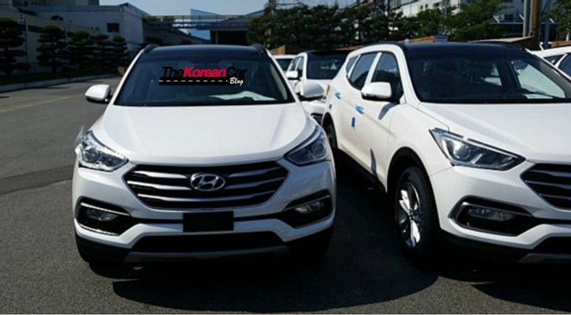 2016 Hyundai Santa Fe Spotted Clearly read more http