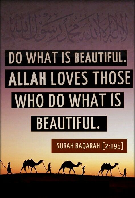 Quran : Allah loves them those who helpful for mankind Do the beautiful helpful activities such as charity, sacrifice, Jihad with own self, etc Surah baqarah 2:195 : And spend in the way of Allah and do not throw [yourselves] with your [own] hands into destruction [by refraining]. And do good; indeed, Allah loves the doers of good. #Allah #Quran #Hadith #islam #Hadees #world #peace #life #love #friendship #happiness #friend #inspiration #dua #quote #muslim #friends #family #parents #people…