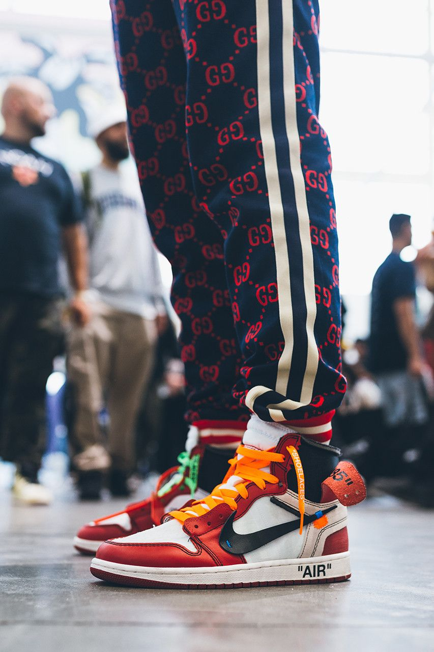 hypefest street style snaps sneakers on foot wearing gucci loafer nike dunk  mars yards sb jordan f6dd9add8