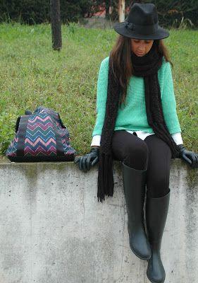 Entre Lazos y Vestidos: Boots for Rainy Days