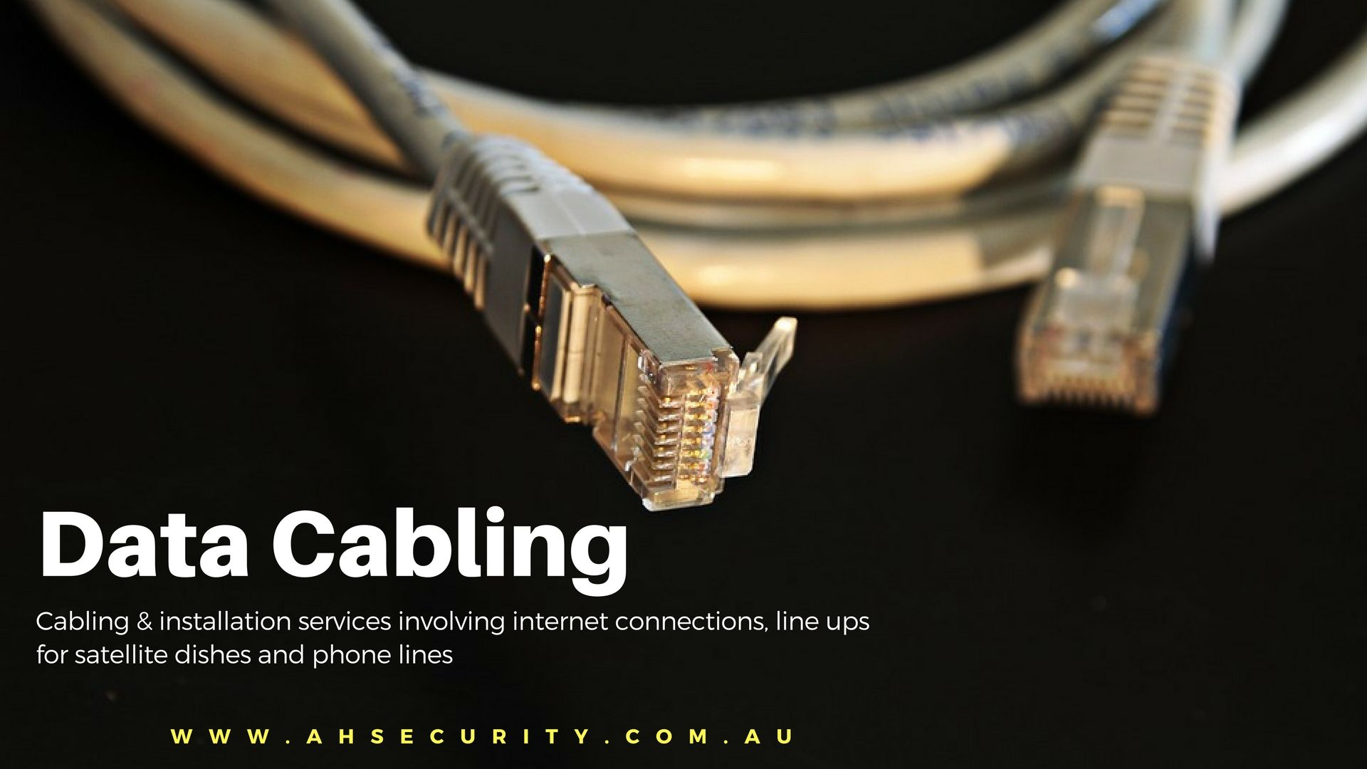 Cabling Installation Services Involving Internet Connections Line Satellite Dish Wiring Ups For Dishes And Phone Lines