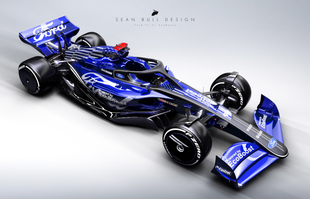 Sean Bull Design On Twitter In 2021 Ford Racing Ford Concept