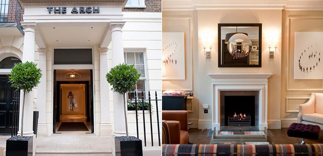The Arch London Boutique Hotels Tablet