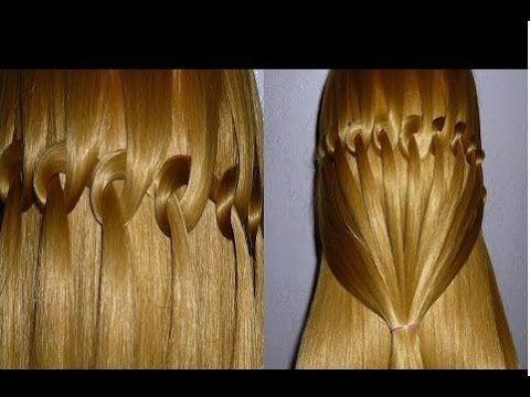 nudo chino y esterillado o tejido canasta basquet weave peinados para nias trenzas