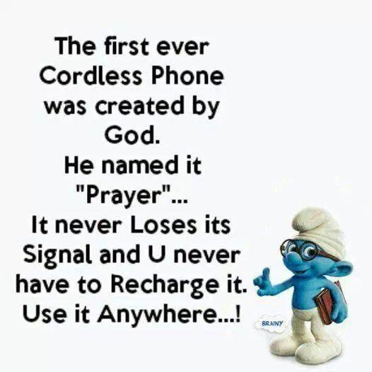Gods cordless phone