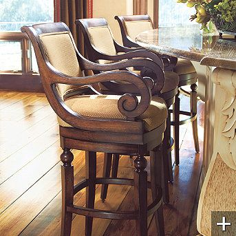 Cool Chair But Might Be Too Heavy Kitchen Bar Stools