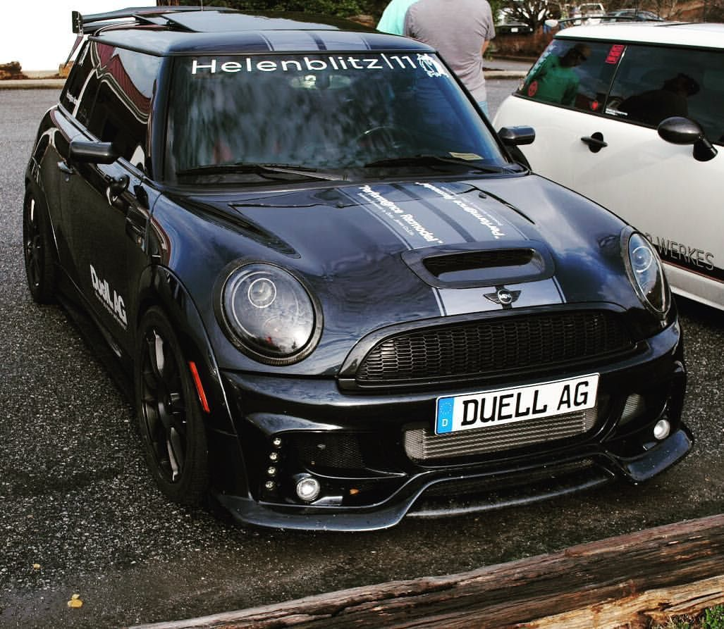 The Duell Ag Mini Made An Appearance At Helenblitz Minicooper