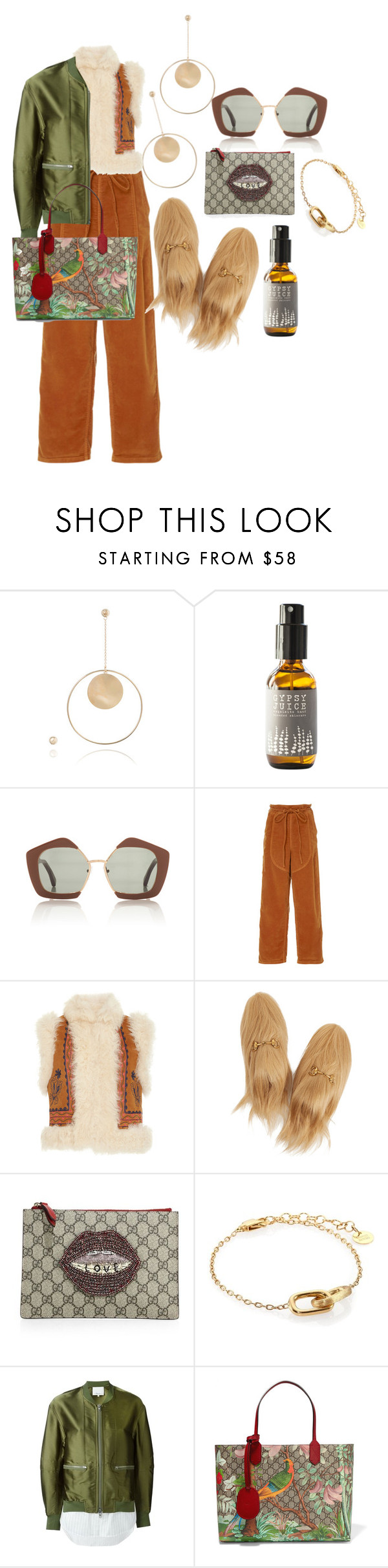 """""""£5893"""" by fendilicious ❤ liked on Polyvore featuring Natasha Schweitzer, Marni, Ulla Johnson, Gucci, Marco Bicego and 3.1 Phillip Lim"""