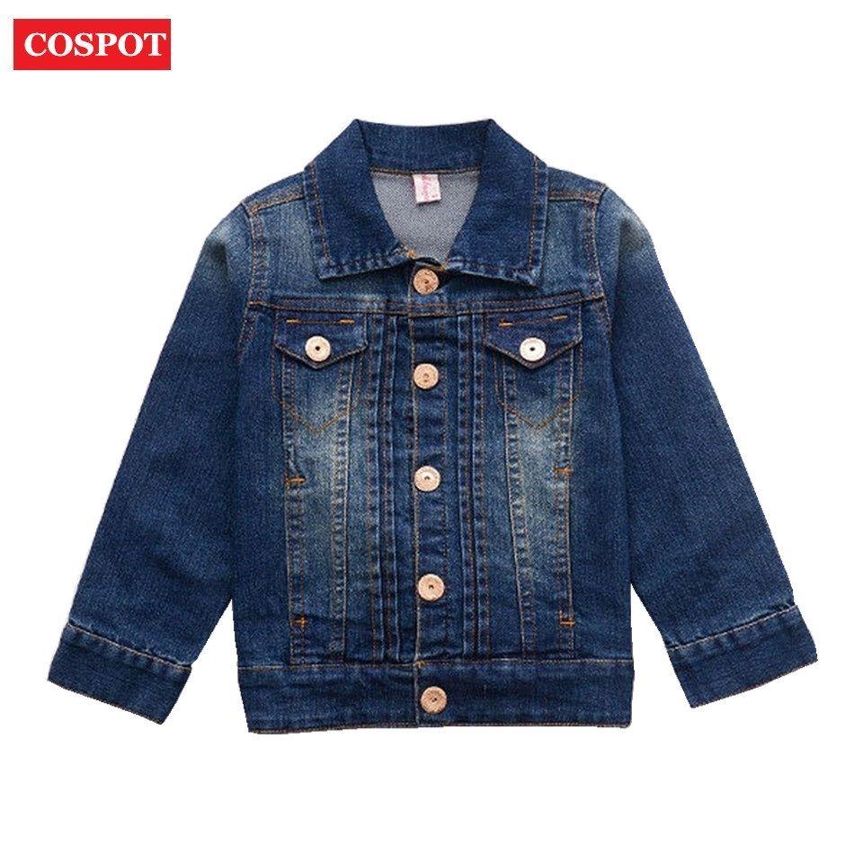 Click To Buy Cospot Baby Boys Girls Denim Jacket Kids Jeans Jacket Boy Girl Autumn Spring Outwear Children Denim Jacket Kids Jeans Jacket Spring Outwear [ 960 x 960 Pixel ]