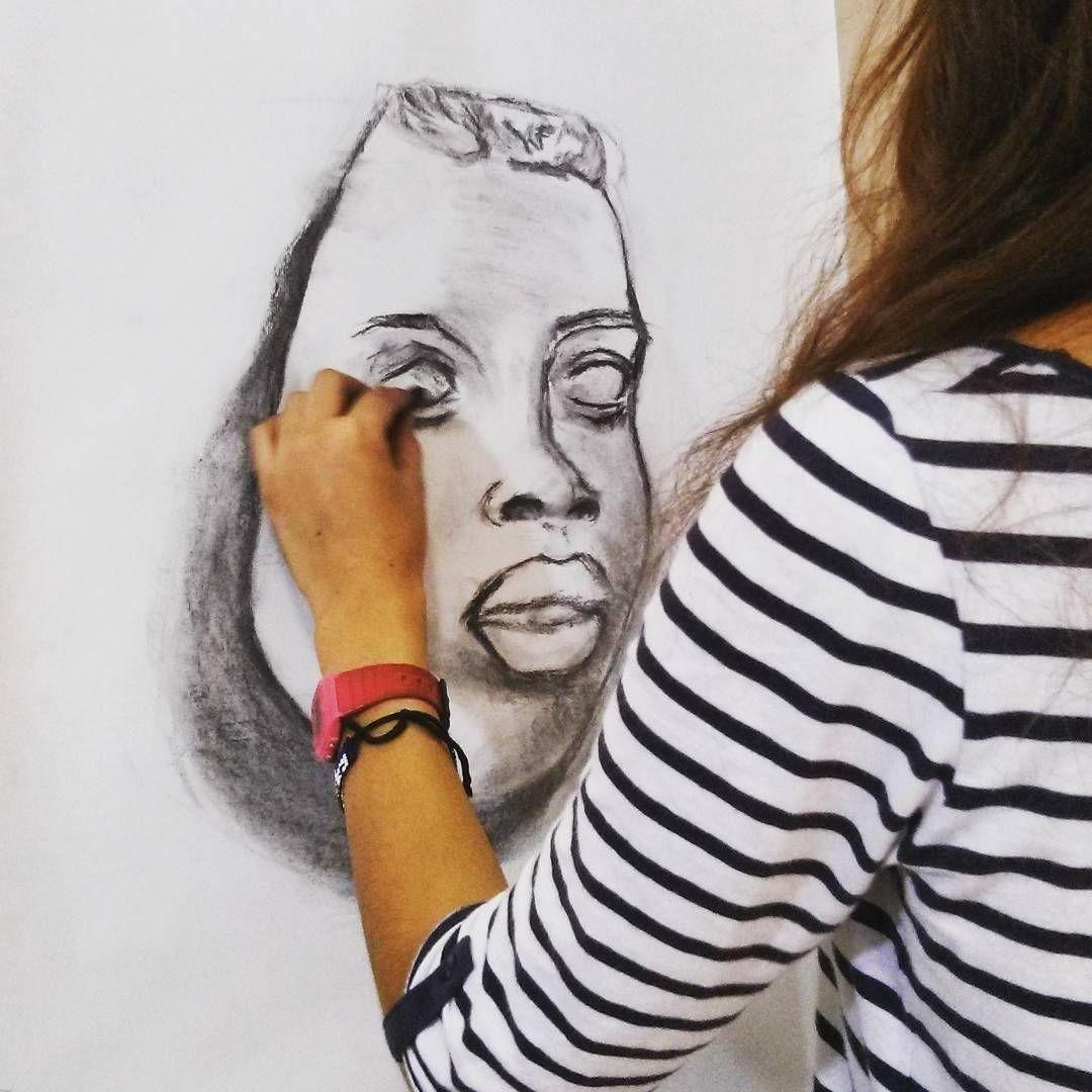 Cecilia preparando selectividad... #cubogaleriaadultos #art #draw #drawing…
