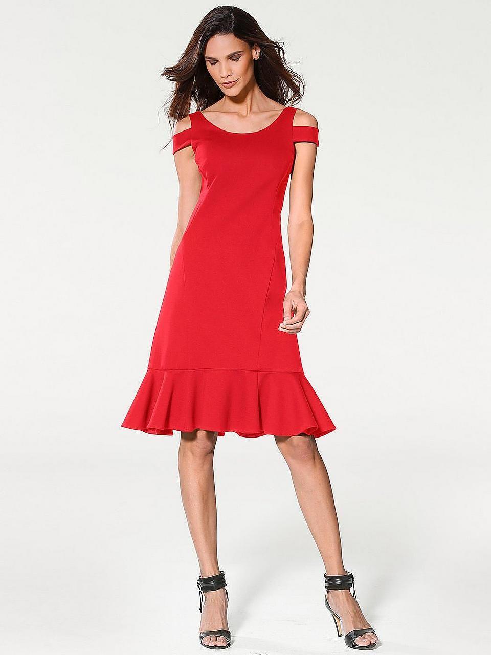 Baur kleid rot