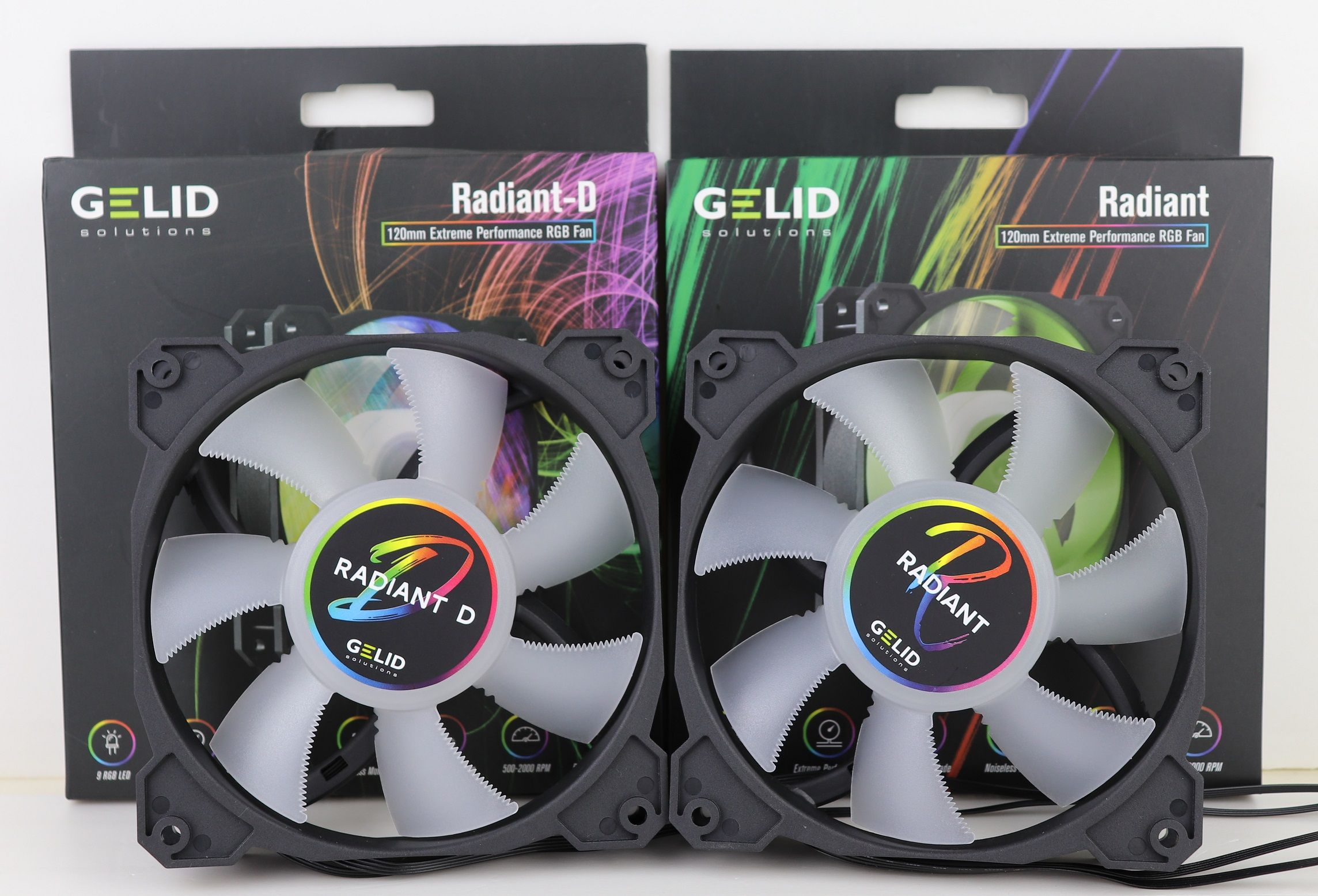 The Radiant Radiant D Rgb Fans From Gelid Performed Well In Our