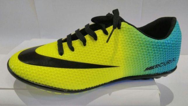 144b3d4c Футбольные сороконожки, Nike Mercurial, футзалки, бампы, кеды, бутсы Киев -  изображение