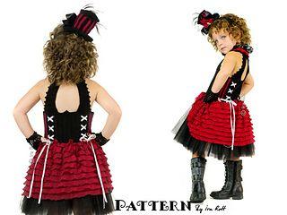 victorian goth steampunk style corset  crochet pattern