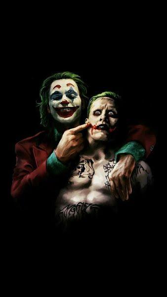 Joker 2019 Juaquin Phoenix Jared Leto 4k 3840x2160 Wallpaper Joker Images Old Joker Joker Artwork