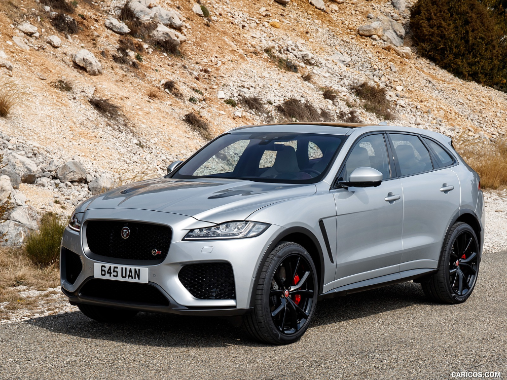 2019 Jaguar F Pace Svr Jaguar Suv Jaguar Daimler Top Luxury Cars