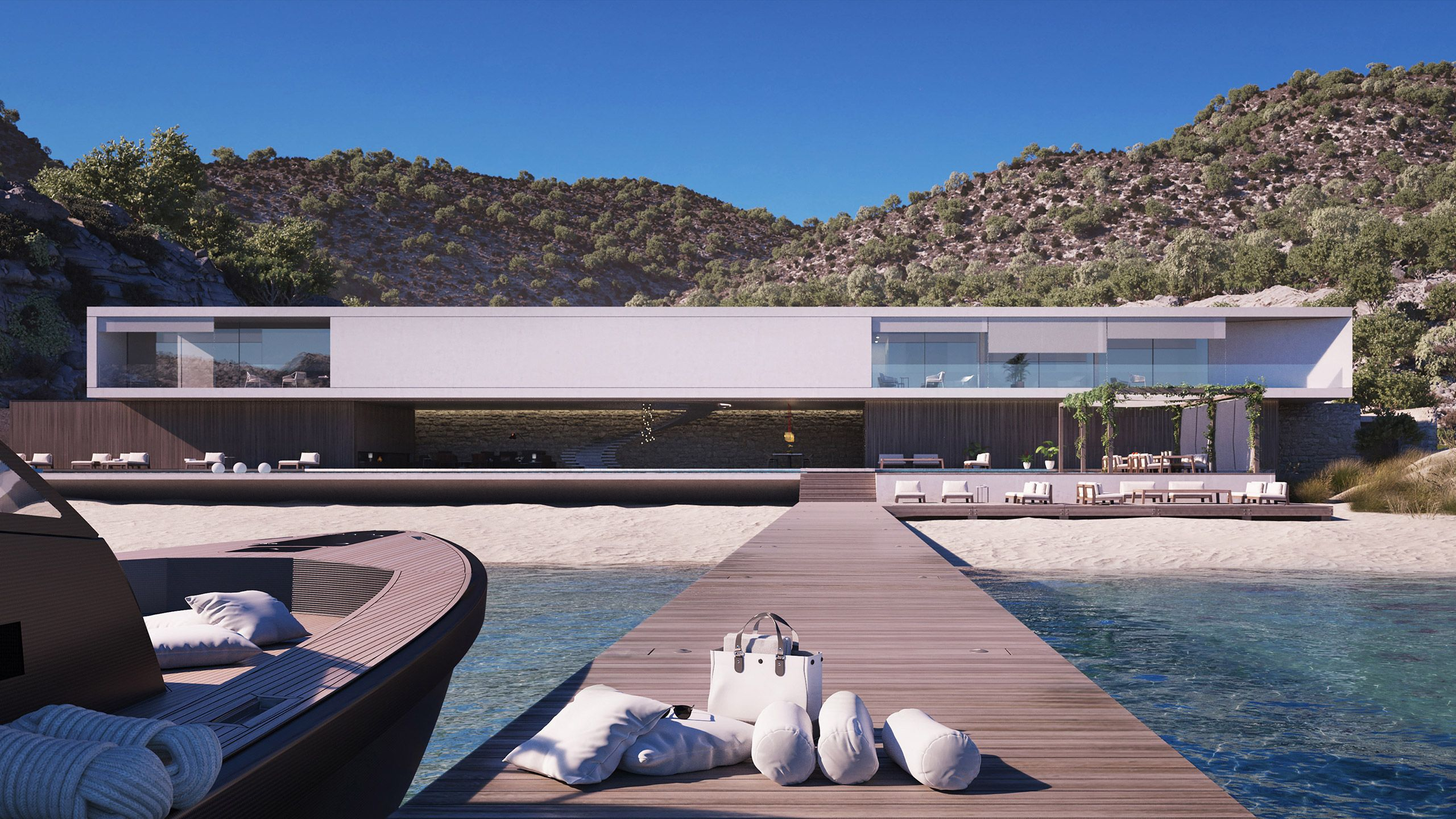 Superhouse Concept by Magnus Strom is Modern Lap of Luxury ...