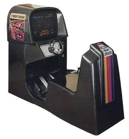nightdriver arcade cabinet