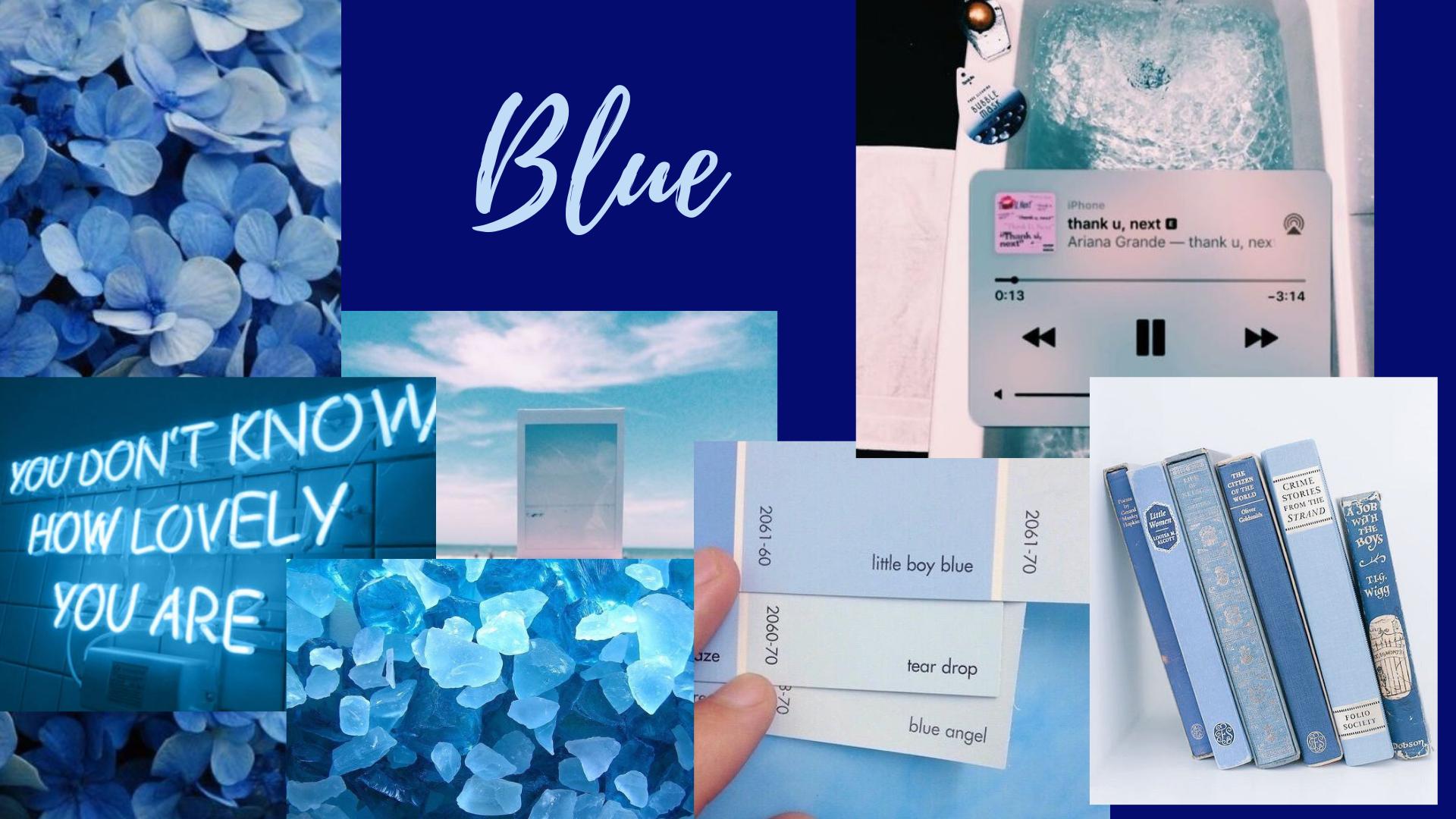Blue Aesthetic Desktop Wallpaper Background For Macbook Windows Free Wallpaper Desktop Wallpaper Pc Aesthetic Desktop Wallpaper