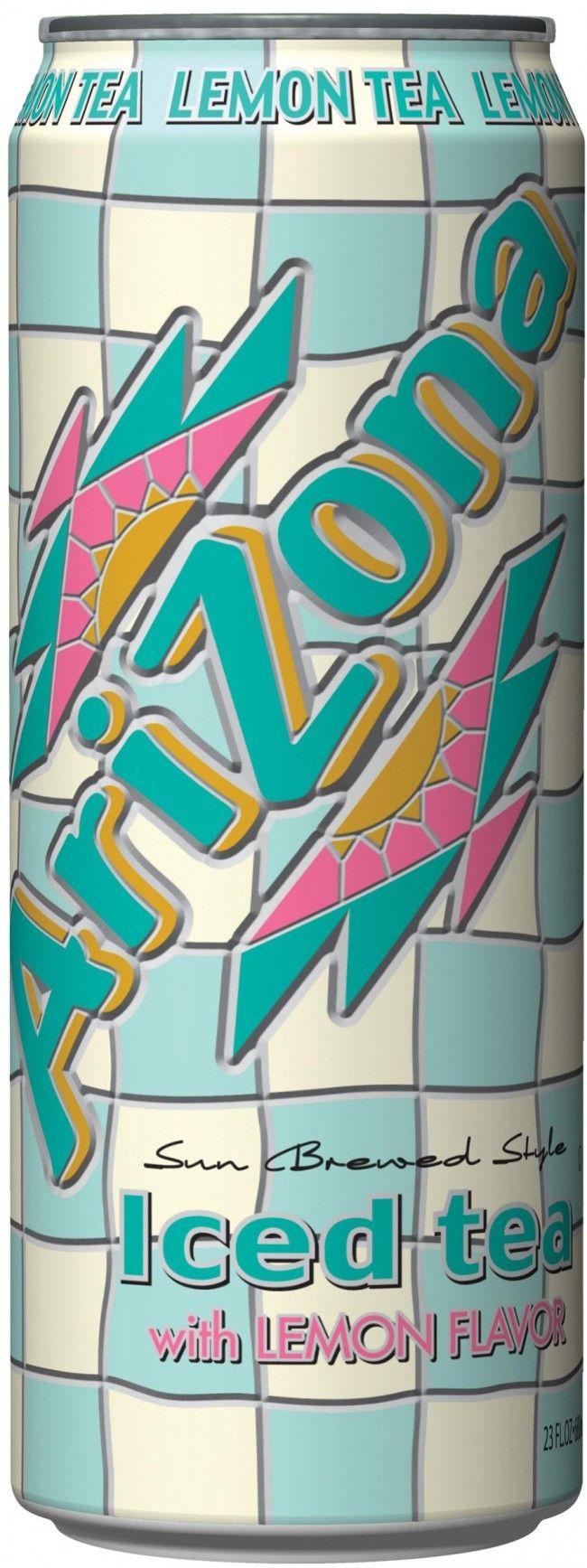 Arizona Ice Tea Lemon 23z Crv 1y Whole Bulk Case Of 24