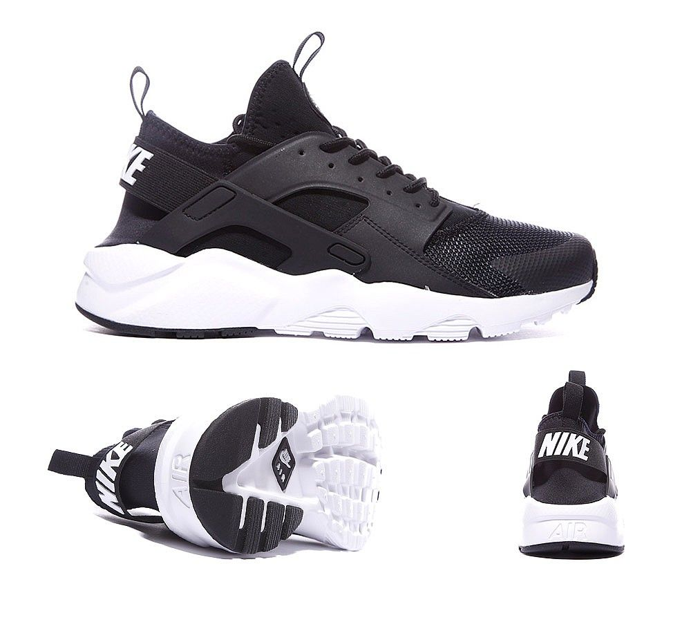 the latest 5958f 126b9 ... new style nike air huarache run ultra trainer black white anthracite  footasylum 51c01 3cd0f