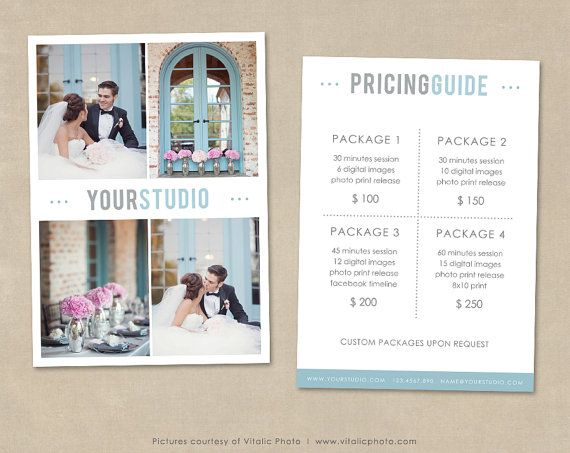 Photography Price List, Wedding Photography, Wedding Price Guide