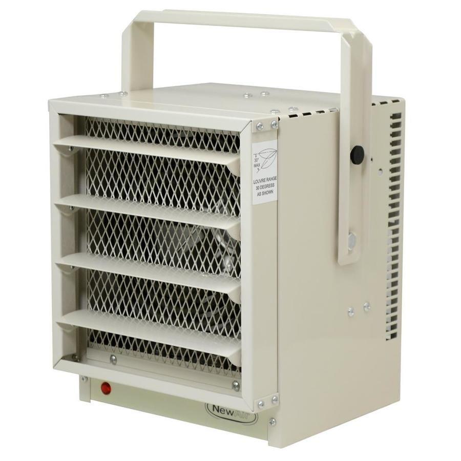 Newair 5000 Watt Electric Garage Heater With Thermostat G73 In 2020 Garage Heater Garage Space Heater Locker Storage