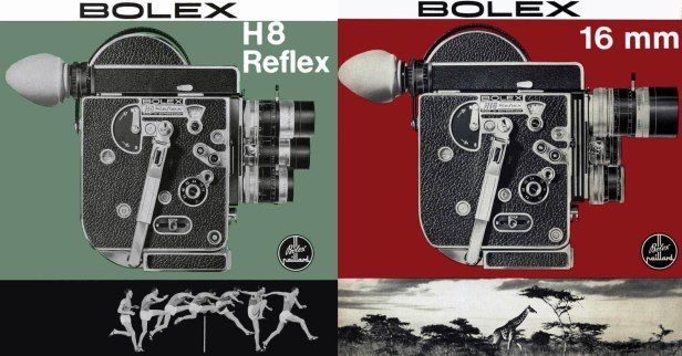 bolex paillard h16 advertising - Google Search