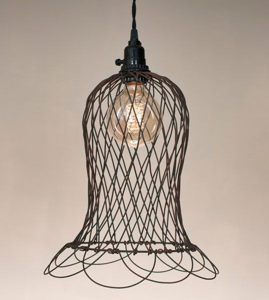 wire bell pendant lighting pinterest ceiling hooks lamp cord