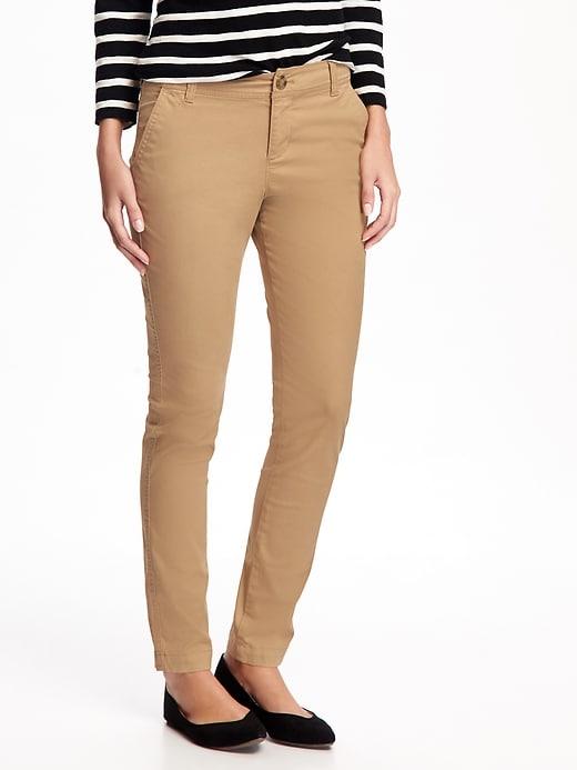 467157bd6bef38 Mid-Rise Skinny Everyday Khakis for Women | Fashion | Skinny khaki ...