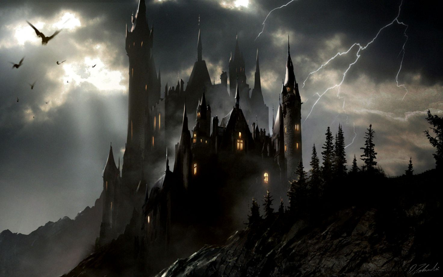 DARK CASTLE Other Architecture Background Wallpapers On