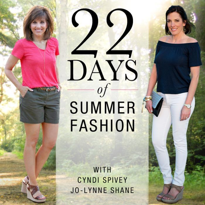 11e00bb9043 22 Days of Summer Fashion with Cyndi Spivey and Jo-Lynne Shane