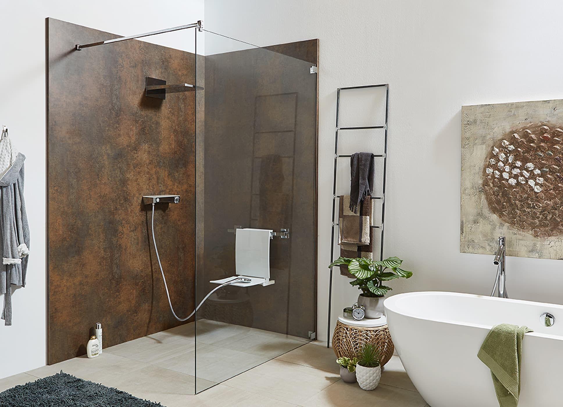 Walkin duschabtrennung moderne badezimmer von glasservice