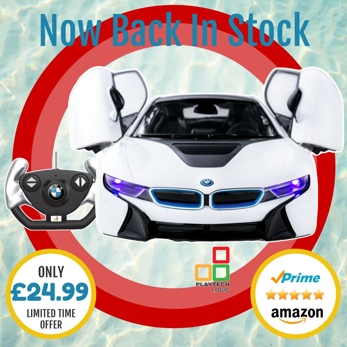 Back In Stock ⭐ Perfect gift for a BMW fan our 114 BMW i8