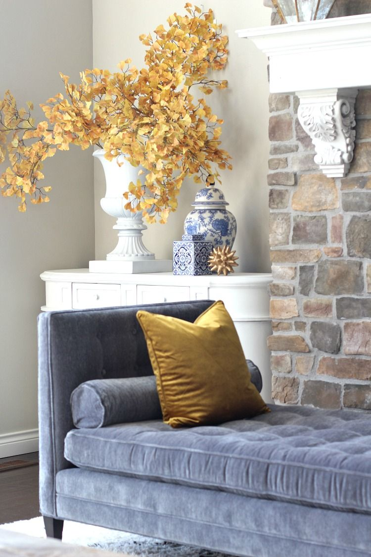 Fall Home Decor Ideas For Every Style | Grey Couches, Decorating
