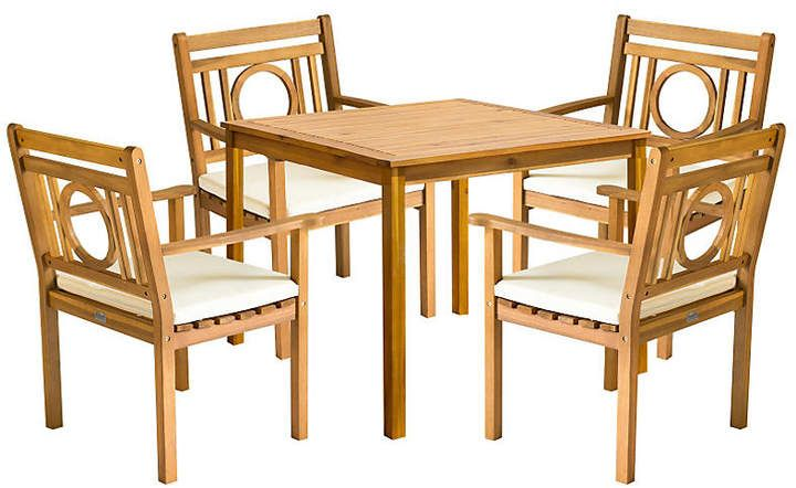 One Kings Lane Outdoor Marion Dining Set Natural Products In