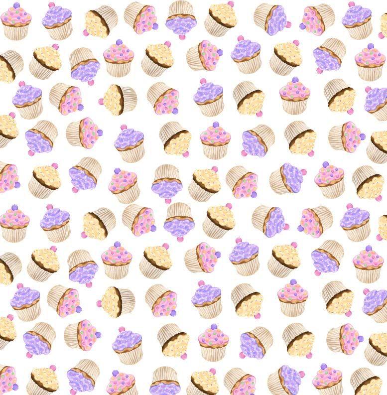 Cupcake Wallpaper: Twitter Backgrounds: New Cupcake