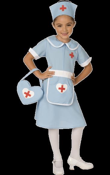 48b929f80e865 Kids Classic Nurse Uniform Costume   Baking   Nurse fancy dress ...
