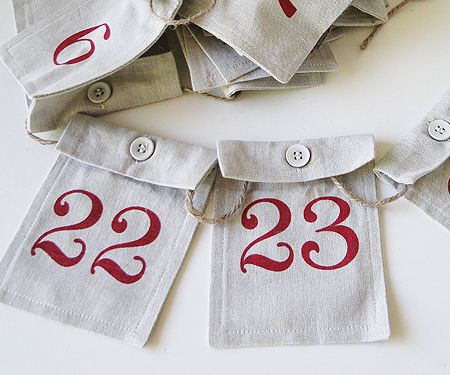 This is such a great idea for an Advent Calendar! Make your own