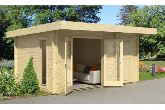 Abri De Jardin Toit Plat Moderne Esthetique Et Fonctionnel Tous Chalets En 2020 Cabane Jardin Palettes Abri De Jardin Abri De Jardin Bois