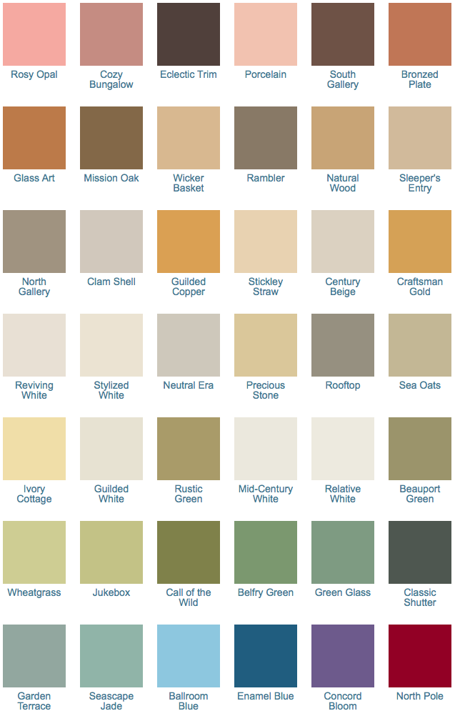California paints craftsman exterior colors 1900 1920 the for Arts and crafts house colors
