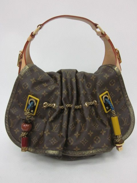 Auth Louis Vuitton Collection Printemps Ete 2009 Kalahari Monogram Handbag Louis Vuitton Collection Handbag Monogram Handbag