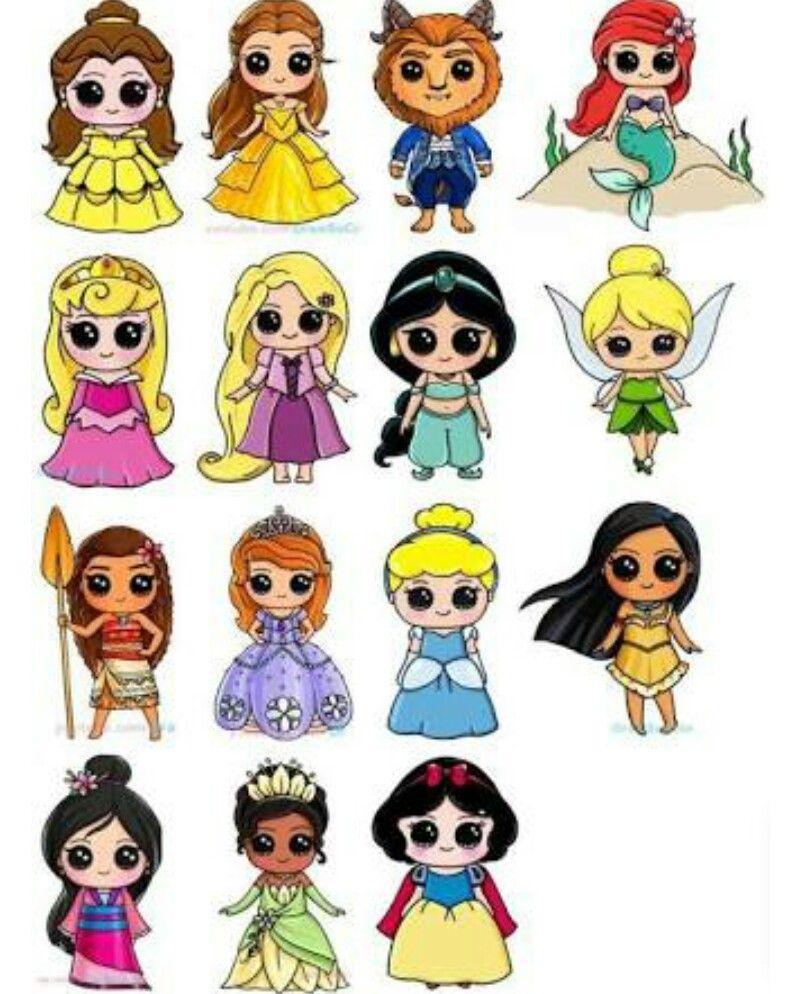 Kawaii Drawings Image By Natalie M Cute Disney Drawings Disney